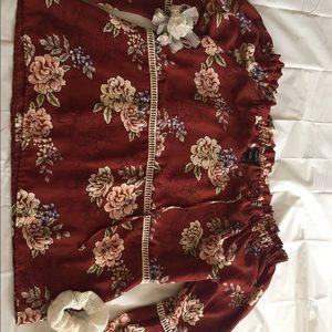 Floral Rue 21 Off the Shoulder Shirt